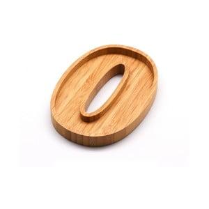 Bambusový servírovací tanierik Bambum Numero Zero