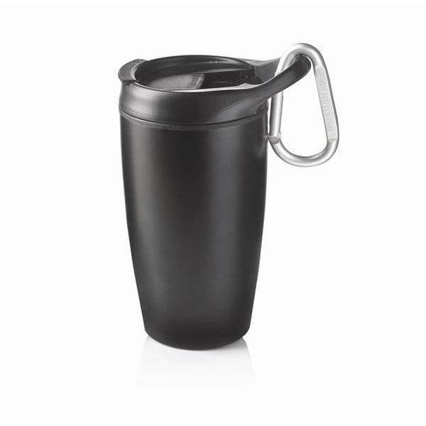 Čierny hrnček XDDesign Nomad, 400 ml