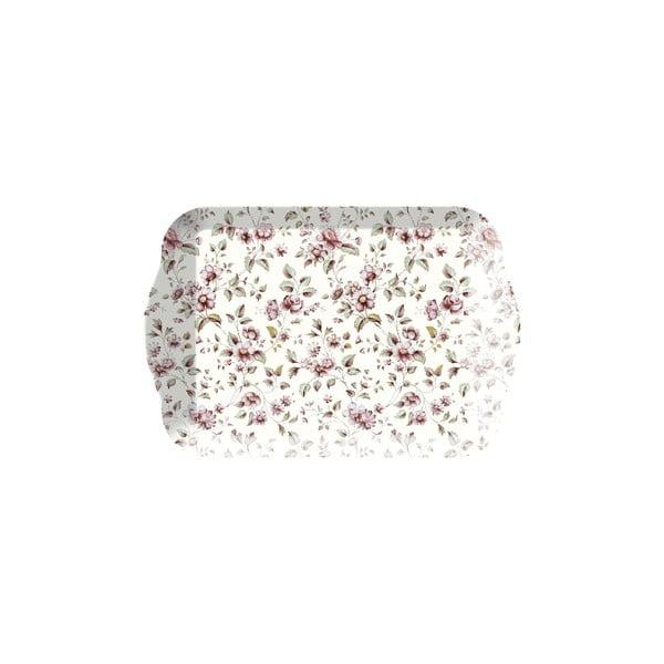 Podnos Creative Tops Floral, 21 x 14 cm