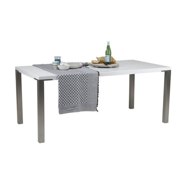 Jedálenský stôl Palau White, 90x180 cm