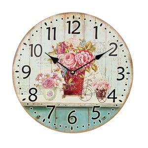 Nástenné hodiny Pinkie Ros, 34 cm