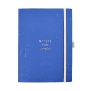 Modrý zápisník na úspory Busy B