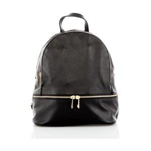 Čierny kožený batoh Glorious Black Zelda