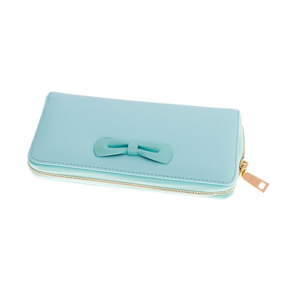 Dámska veľká peňaženka Ladiest, mentolová