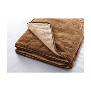 Vlnená deka Camel, 220x200 cm
