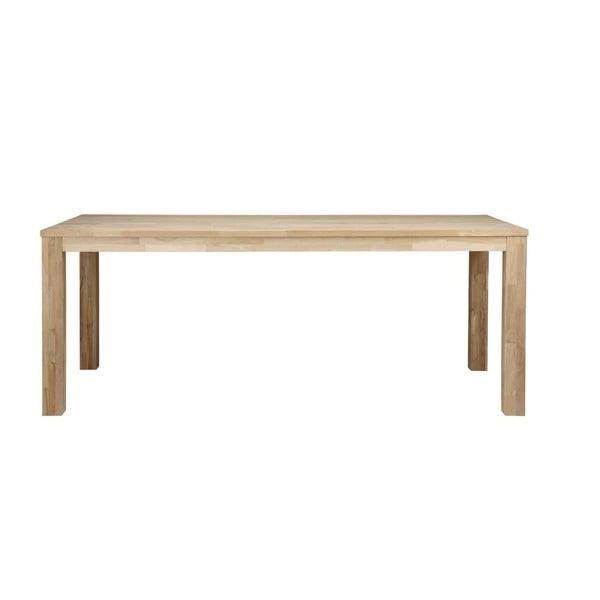 Drevený jedálenský stôl Largo Untreated, 90x230 cm