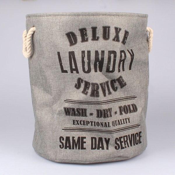 Kôš na bielizeň Laundry Service, sivý