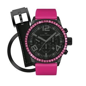 Dámske hodinky Marc Coblen s remienkom a krúžkom na ciferník naviac P58