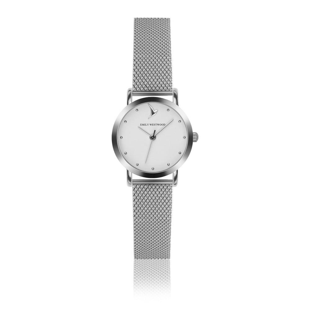 bef682bb6 Dámske hodinky so sivým remienkom z antikoro ocele Emily Westwood Bussiness