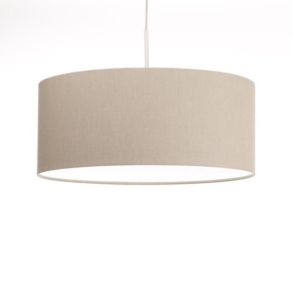Krémové stropné svetlo Artist, variabilná dĺžka, Ø 60 cm