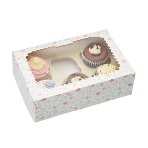 Sada dvoch darčekových krabičiek Sweetly Does It pro šest muffinů