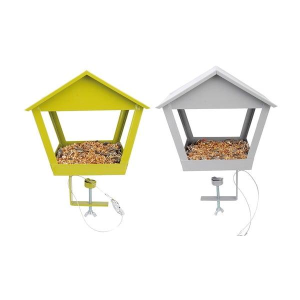 Sada 2 kŕmidiel pre vtáčikov Esschert Design Magic