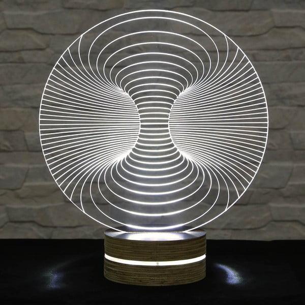 3D stolová lampa Abstract I
