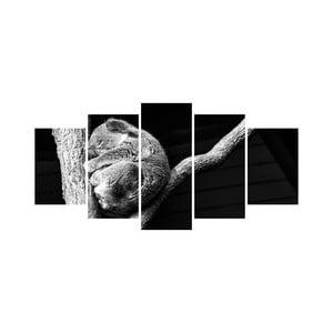 Viacdielny obraz Black&White no. 60, 100x50 cm