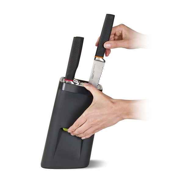 Stojan s nožmi a poistkou LockBlock 6