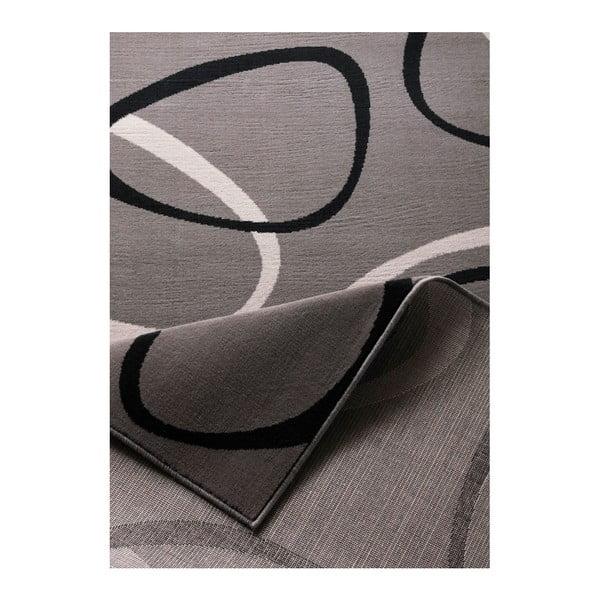 Sivý koberec Hanse Home Prime Pile Rings Grey, 160x230cm