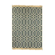Béžovo-modrý koberec Ya Rugs Kenar, 120x180cm