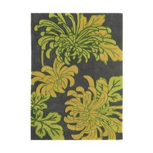 Koberec Harlequin Flora Green, 120x170 cm