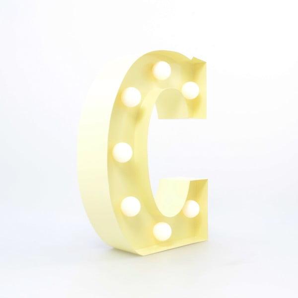 Dekoratívne svetlo Carnival C, vanilkové