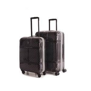 Set 2 cestovných kufrov V&L Negro