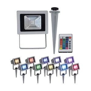 Záhradné zapichovacie LED svietidlo s diaľkovým ovládaním Naeve
