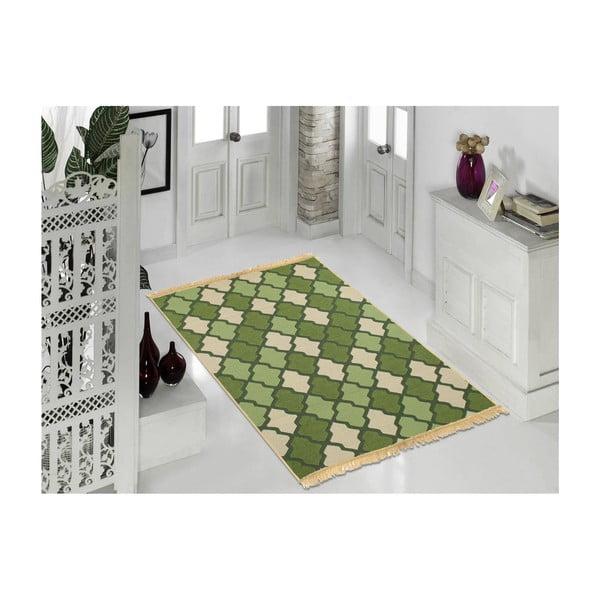 Zelený koberec Ya Rugs Duvar, 60x90cm