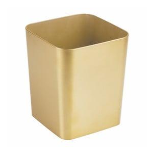Odpadkový koš v zlatej farbe InterDesign