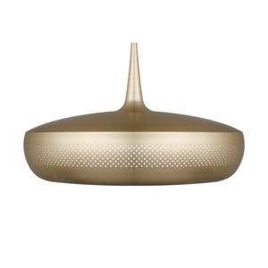 Stropné svietidlo farby mosadze Clava Dine Brushed Brass