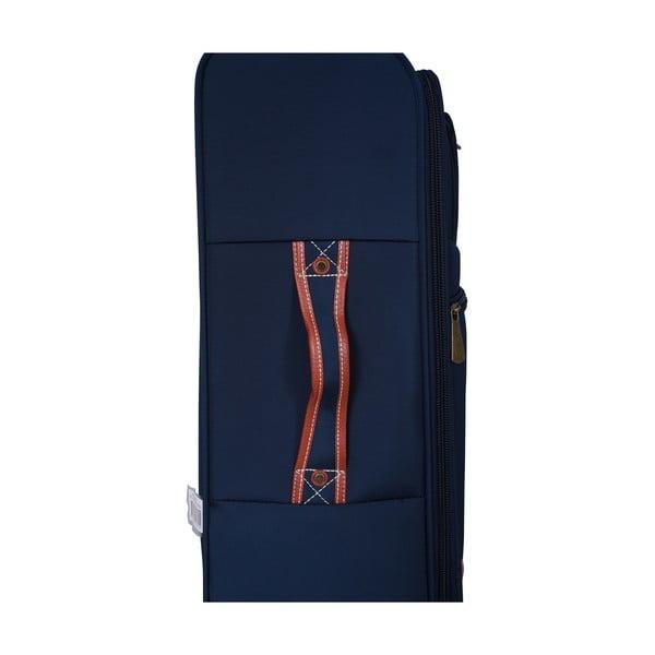 Sada 3 kufrov Jean Louis Scherrer Valises Blue
