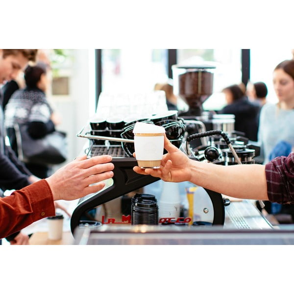 Eko hrnček na kávu Joco Cup 227 ml, mätový