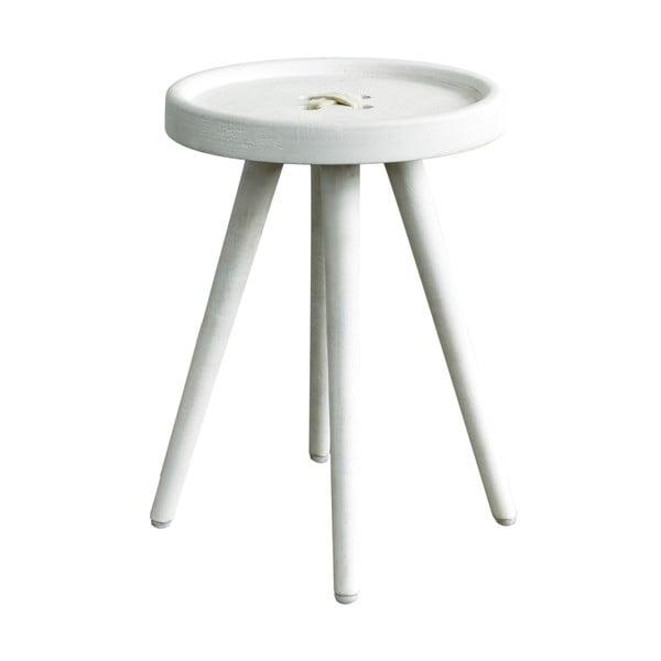 Odkladací stolík s béžovými detailmi Hawke&Thorn Preston