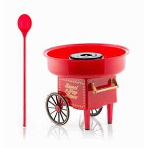 Červený výrobník cukrovej vaty InnovaGoods Candyfloss Machine