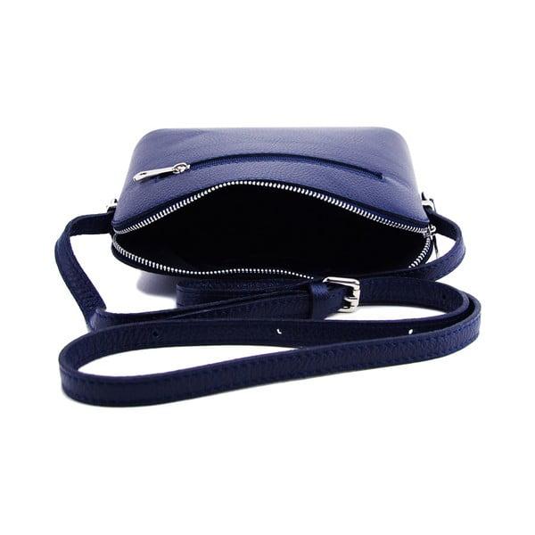 Kožená kabelka Cristella Blue