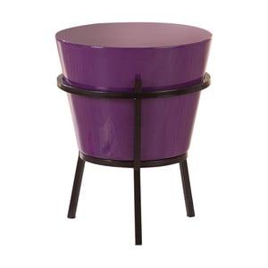 Fialový odkladací stolík 13Casa Relaxar
