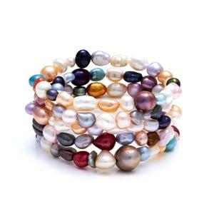 Farebný perlový náramok GemSeller Ciliata
