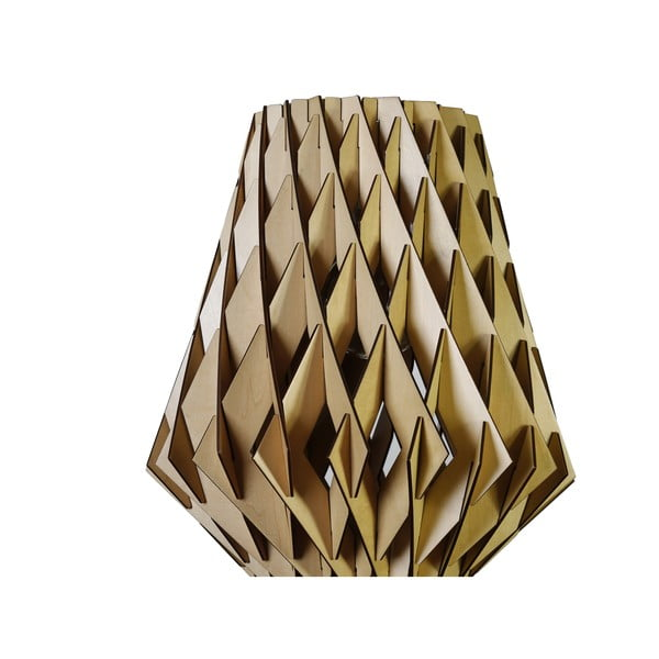 Závesné stropné svietidlo GRADE, drevené