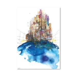 Plagát Skylines, 30x42 cm