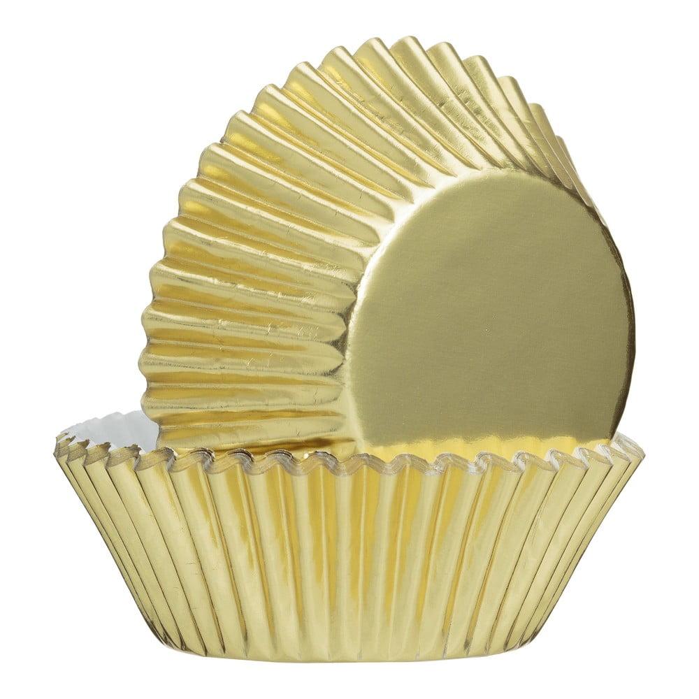 Sada 32 ks papierových košíkov v zlatej farbe Mason Cash Baking