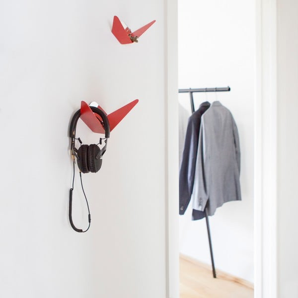 Zrkadlo pre vešiak Butterfly Small