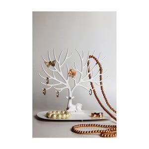 Biely stojan na šperky Qualy&CO My Little Deer