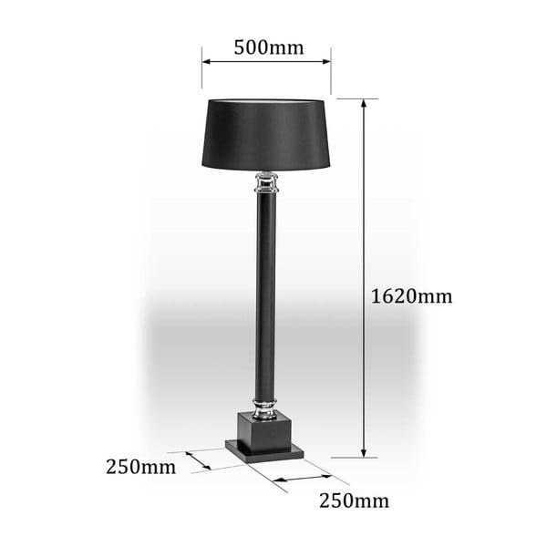 Stojacia lampa Regents Park, 162 cm
