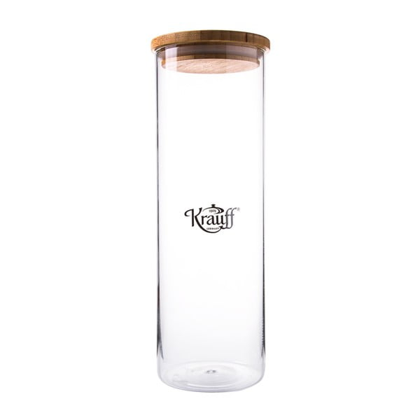 Sklenená dóza Krauff Glass, 30,5 cm