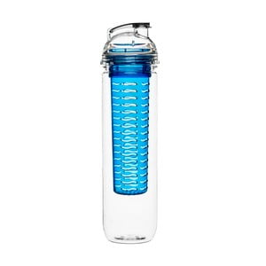 Modrá fľaša s difuzérom Sagaform Fresh, 800 ml