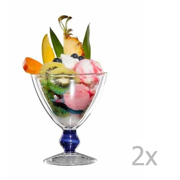 Sada 2 sklenených pohárov bloomix Billy