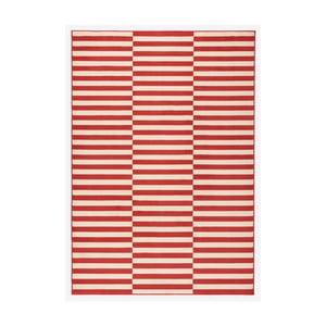 Červený koberec Hanse Home Gloria Panel, 80 x 150 cm
