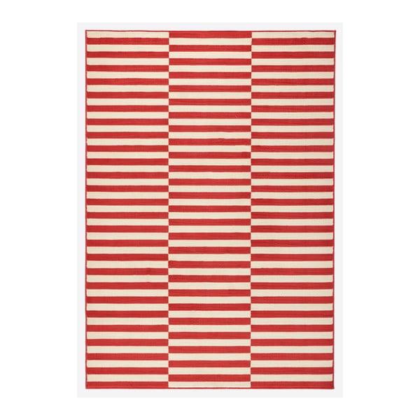 Červený koberec Hanse Home Gloria Panel, 200 x 290 cm