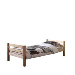Prírodná detská posteľ Vipack Pino, 90 × 200 cm