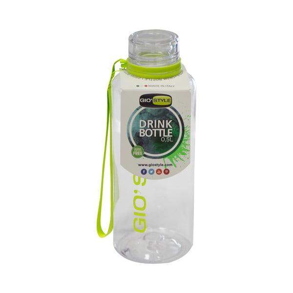 Cestovná fľaša Gio'Style Evviva, zelená