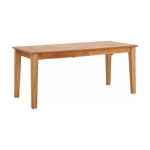 Drevený rozkladací jedálenský stôl Støraa Amarillo, 180 x 76 cm