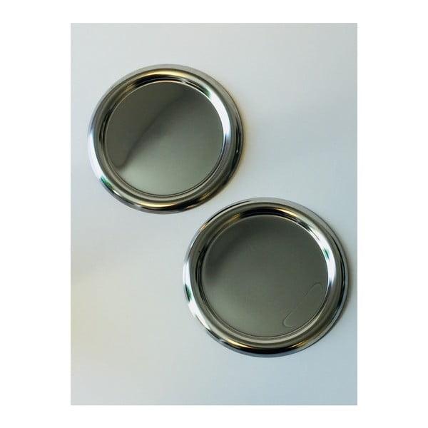 Sada 2 podložiek z antikoro ocele Steel Function, ø 13cm